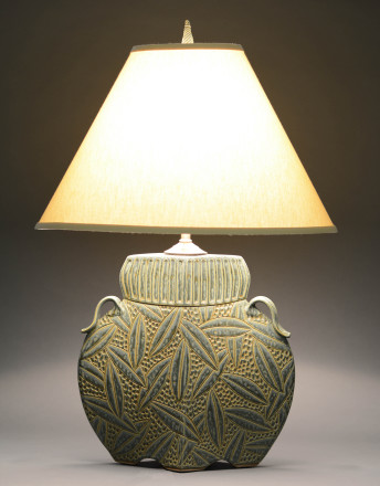 Arts and Crafts Lamp-Sage