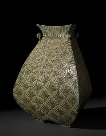 Bulbous Vase – Sage