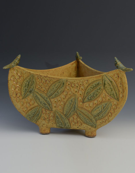 Gold 3 Sided Bowl