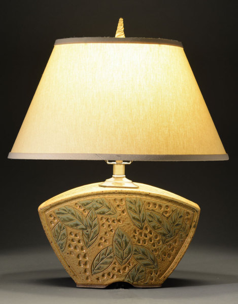 Gold Keystone Lamp