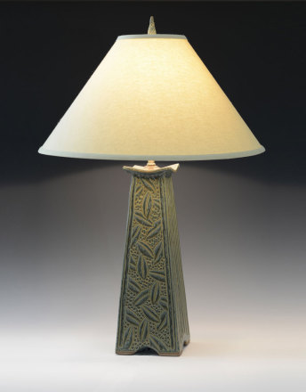 Mission lamp sage