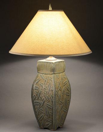 Sage 4 Sided Lamp
