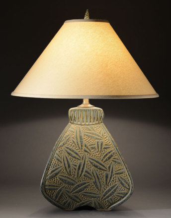 Sage Bulbous Lamp