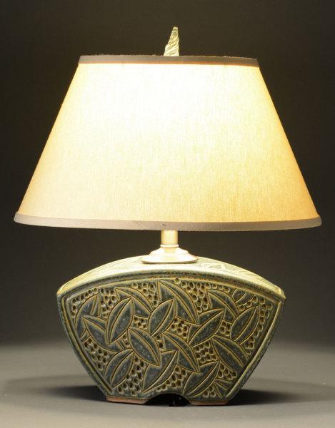 Sage Keystone Lamp