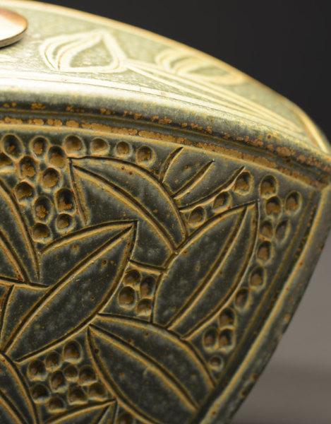 Sage Keystone Lamp Detail