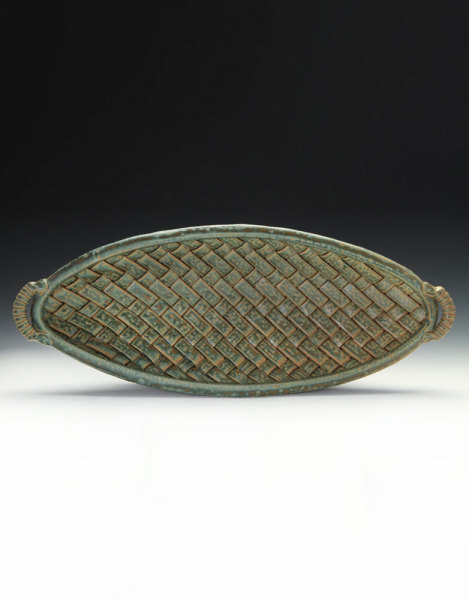 Long Woven Bowl - Sage